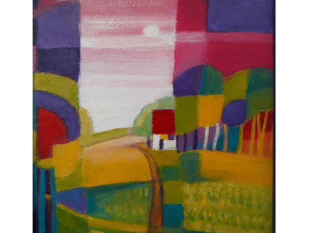 P111-Colourfield-Painting